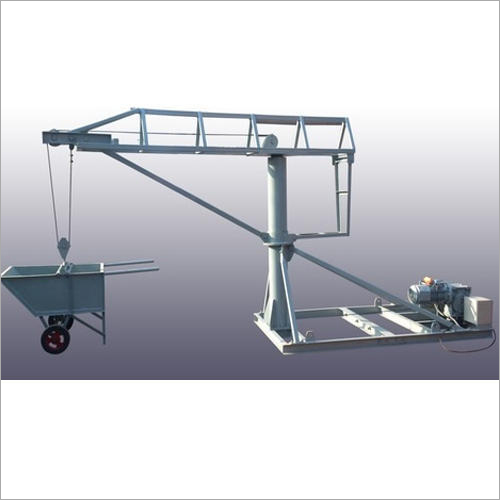 Monkey Hoist With Wheel Barrow