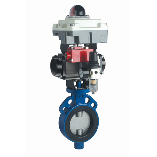 Butterfly Valves with Rotery Actuatorand Accessories
