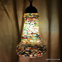 Mosaic Wall Hanging Lamp
