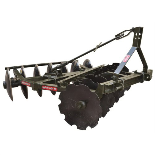 Double Frame Disk Harrow