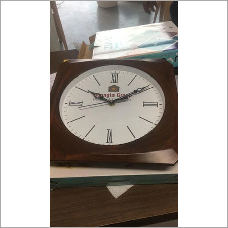 Company logo wall clocks