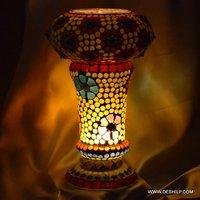 UNIQUE DESIGN MOSAIC TABLE LAMP