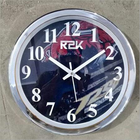 Company Logo Clock