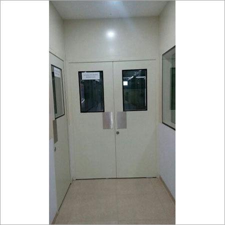Clean Room Galvanized Door