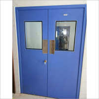 Galvanized Clean Room Door