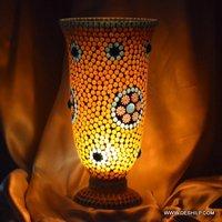 Beautiful Designer Glass Table Lamp