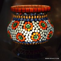 Mini Glass Shape Glass Table Lamp