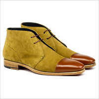 Anckle Lenght Leather Boot