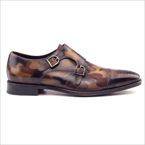 Designer Printed Leather Shoes
