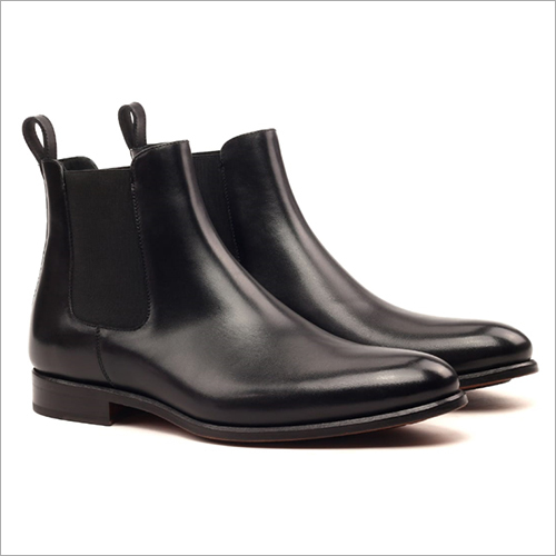 Long Black Leather Boot