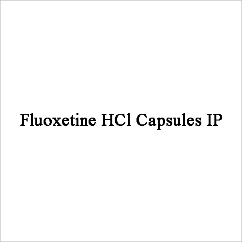 Fluoxetine HCl Capsules IP