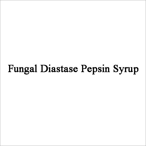 Fungal Diastase Pepsin Syrup