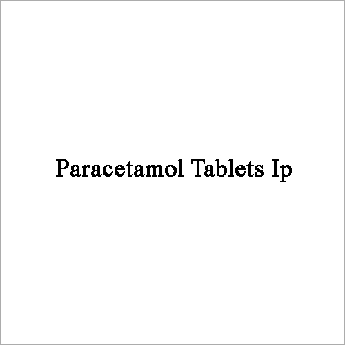 Paracetamol Tablets Ip