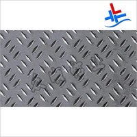 Three Ribbed Pattern Aluminum Plate