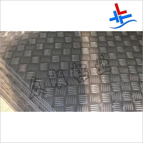 Small Five Ribbed Pattern Aluminum Plate