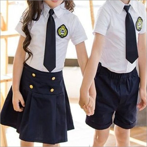 Kids Cotton School Uniform