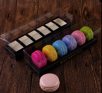 Clear Plastic Transparent Macarons packaging Box