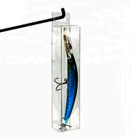 Custom PVC/PET clear Fishing Lure Transparent Packaging Box