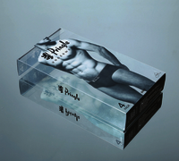 PVC Underwear Plastic Packaging Box