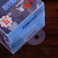 Custom Plastic Transparent Packaging Box