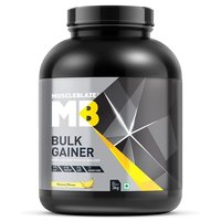 MuscleBlaze Bulk Gainer with Creatine, 6.6 lb(3kg) Banana