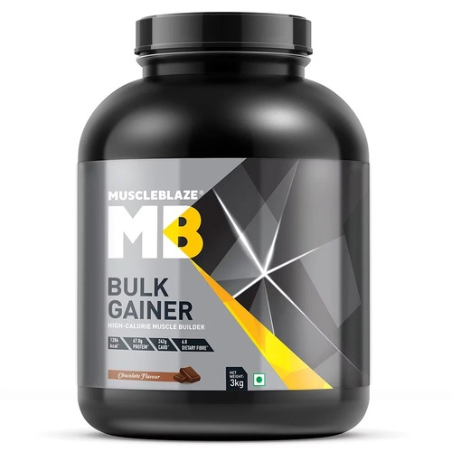 MuscleBlaze Bulk Gainer with Creatine, 6.6 lb (3kg)Chocolate