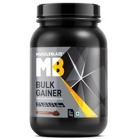 MuscleBlaze Bulk Gainer with Creatine, 2.2 lb(1kg)Chocolate