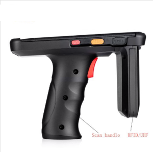 5inch Portable Uhf Rfid Reader With 2D Laser Scanner Rfid Products