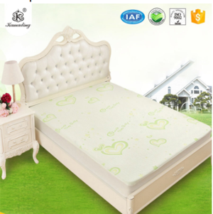 Waterproof Mattress Pad Protector Cover Breathable Fitted Mattress Cover