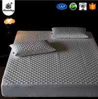KAMADING Waterproof Matress Protectors Bed bug Control Zippered Quilted Style Mattress Covers
