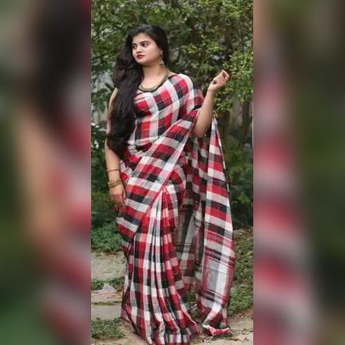 Classic Linen Saree