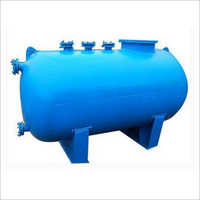 Glass Lined Horizontal Storage Tank