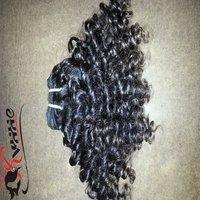 Afro Kinky Hair Black Weave Bundles