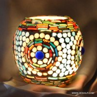 CANDLE HOLDER GLASS MADE