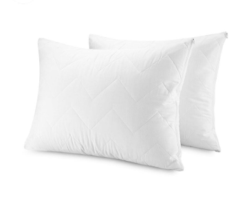 Waterproof Pillow Protectors Bed bug Control 100% Cotton Top Quilted Pillow cover Encasement