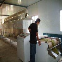 Tunnel Microwave Honeysuckle Tea Fixation Machine