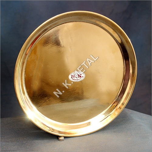 Brass China Plate