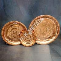 Copper Nakshi Plate