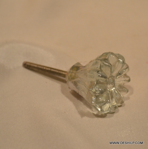 DOOR & RACKS GLASS KNOBS