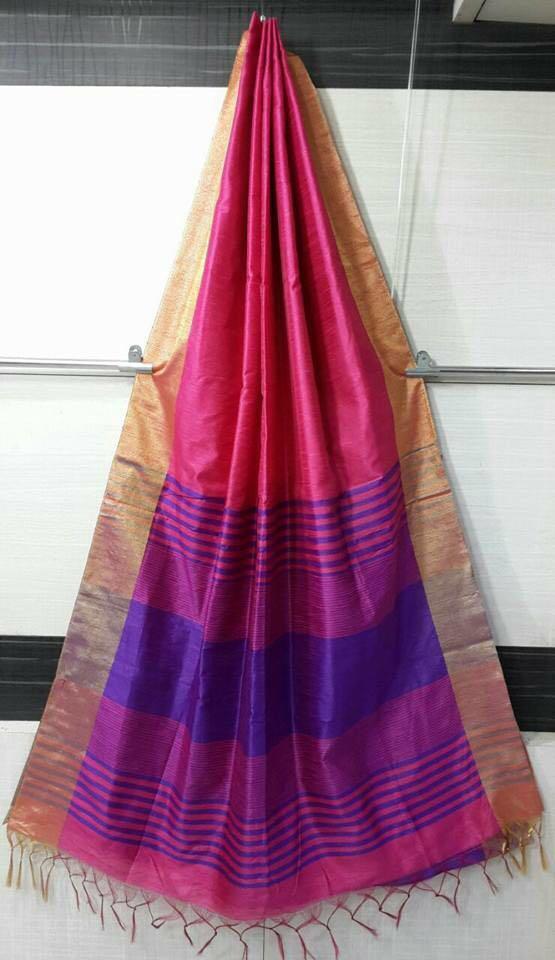 New Cotton Silk saree