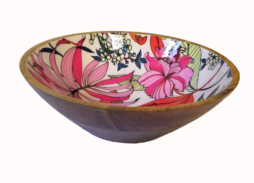 Decorative Wooden Bowl