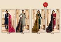 Satin Georgette Designer Suits