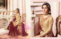 Pakistani Designer Sharara Suits