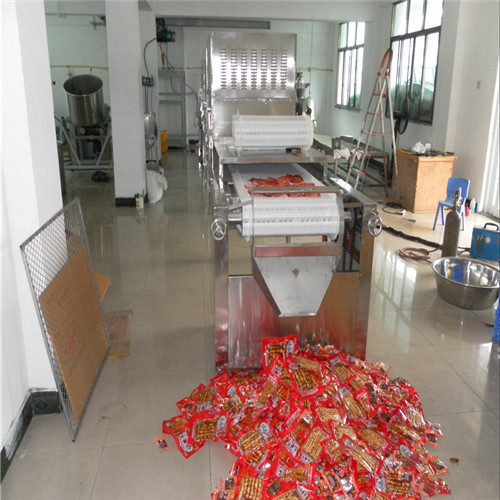 Tunnel Packed Food Electric Sterilizer Machine
