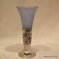 Color Glass Frost Small Table Flower Vase