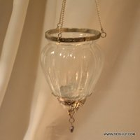 Small T Light Hanging Candle Holder