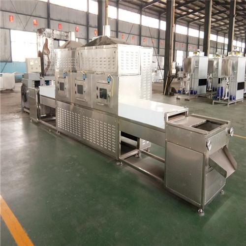 Continuous Mushroom Drying Sterilization Machine