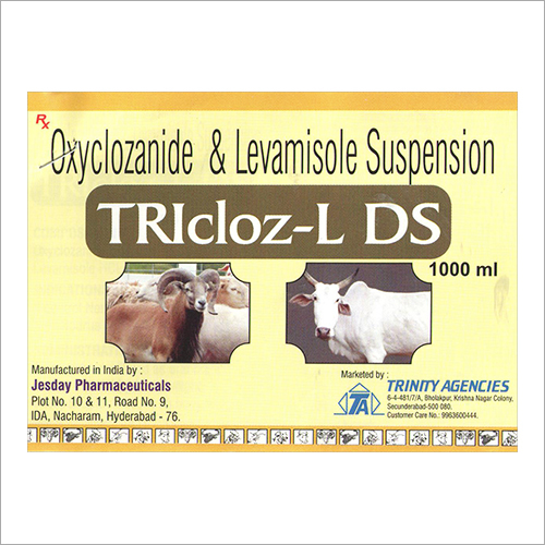 Oxyclozanide And Levamisole Suspension