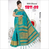 Ladies  Casual Wear Printed Saree