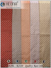 Sherwani Embroidery Fabric